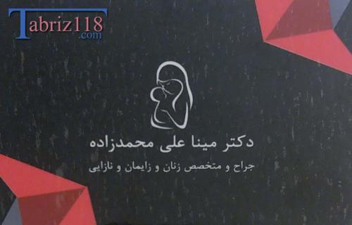 دکتر مینا علی محمدزاده